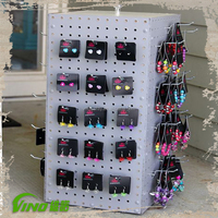 Rotating Hooks Display Jewelry Display Showcase For Sale Counter Display