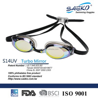 Racing - Top Sale Teenager Swimming Mirrored Lens Competition Swimming Goggles