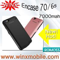 Best price!Romoss En70/6s powerbank 7000 mah encase backup charging dual USB output phone accessories mobile for apple 6 6s