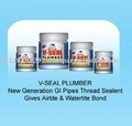 V-SEAL PLUMBER New Generation GI Pipes Thread Sealent Gives Airtite & Watertite Bond