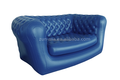 durable pvc hot sale white inflatable sofa