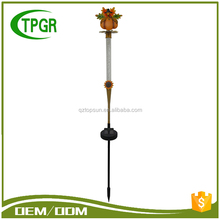 Outdoor Solar Fall Harvest Spot Street Light Lithium Battery Metal Garden Stake Wholesale Garden Solar Light