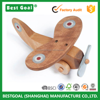 Toddler Toy Wooden Airplane Toy Wood Plane Toy for Kids