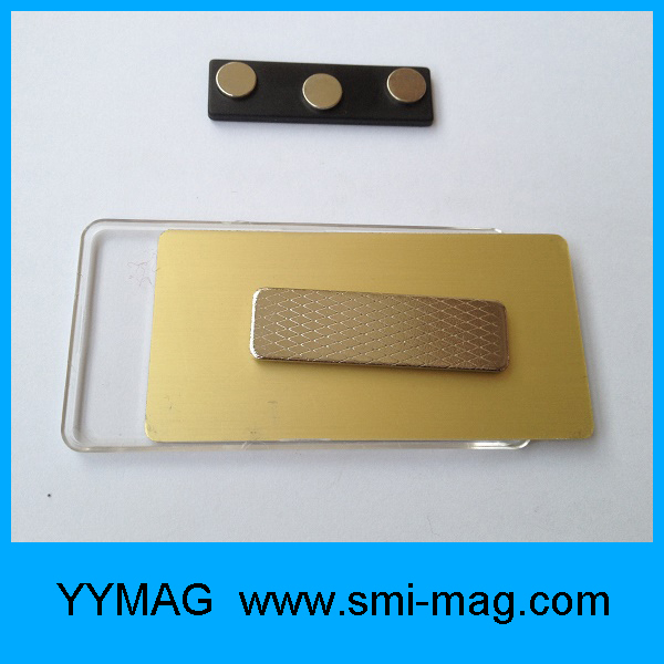 Promotional superior quality neodymium magnets for name tags