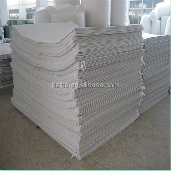 hard handfeel polyester felt mattress fabric