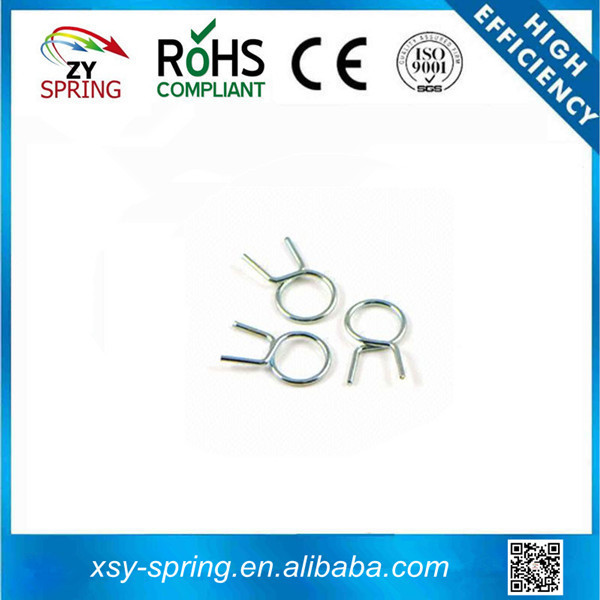 water pipe spring clip with zinc plating Suitable for Hardware
