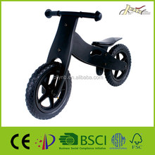"12"" Wooden Balance bike Sprincykel for Kids toy bicycle"