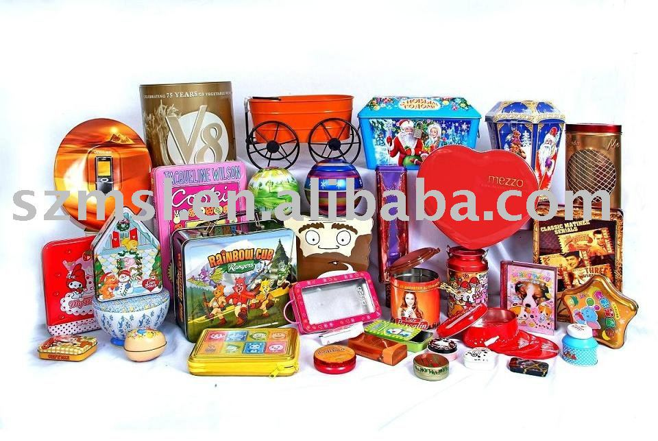 Wholesale sauqre small tea tin box