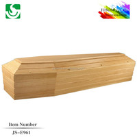 Professional decoration interior for simple coffin
