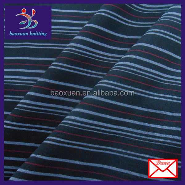 black white stripe 4 way stretch fabric