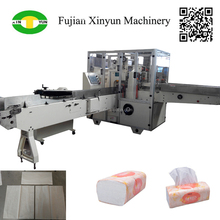 High speed facial tissue packing machine for soft type