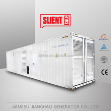 Excellent performance 1mw diesel engine price in India 1250kva containerized type generator