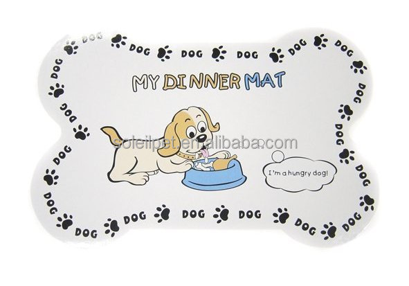 New Arrival Plastic Anti-Slip Dog Dinner Mat