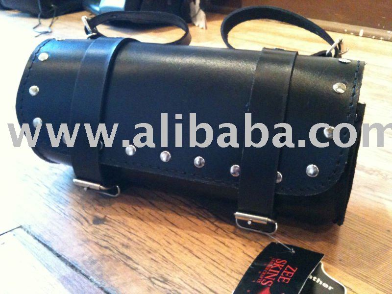 Leather Motorbike Luggage Bag - 4