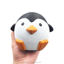 Wholesale China Factory Supplier Soft Slow Rising PU Squishy Jumbo Animal Shape Penguin Toy Stress Release