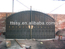 Wrought Iron Cast Entrance Gate