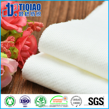 White color combed cotton fleece fabric for man