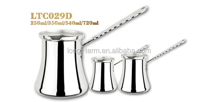 L10258584 unique stainless steel vacuum coffee pot colorful handle
