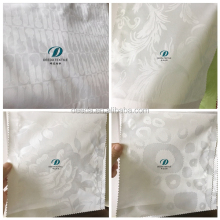 Deeda factory 100% cotton white cheap hotel bedding fabric