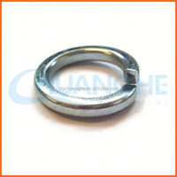 Factory price galvanized black double coil spring washer