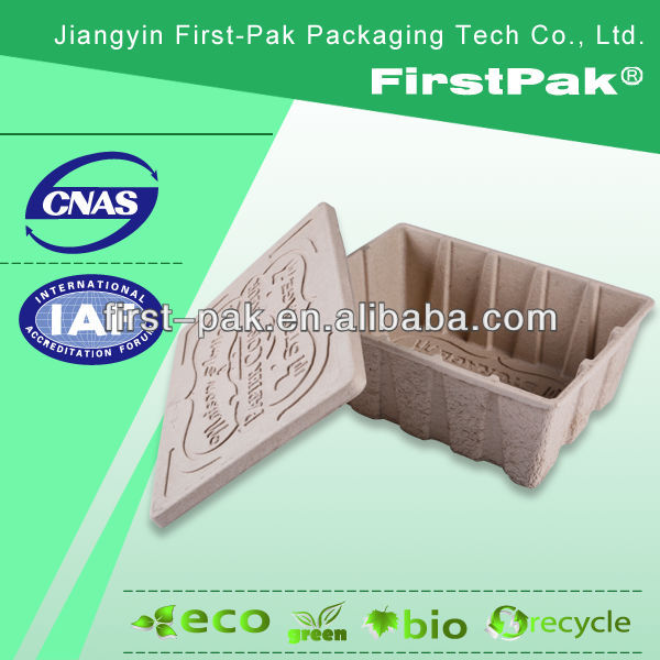 Moulded Pulp vegetable packaging box fruit container