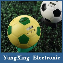 plastic soccer shape digital coin counter high quality piggy bank wholesale money box