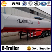 2014 HOT sale 90m3 diesel fuel storage tank trailer