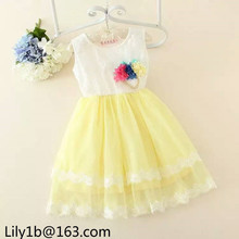stock baby girl birthday party dresses kids christmas designer one piece party dresses
