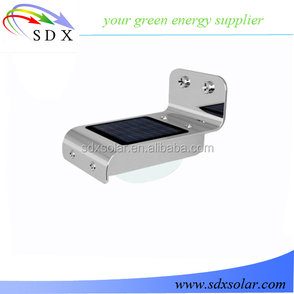 16 Led Solar Lights SDX-SL02 Led Wall Light With Light And Dark Sensor Outdoor