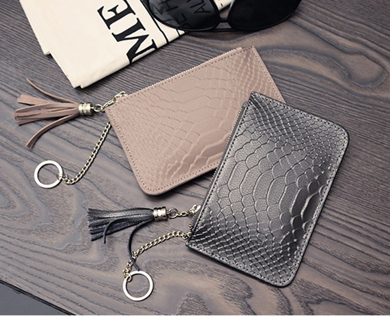 Hot custom gift manufacturer style PU leather lady woman wallet
