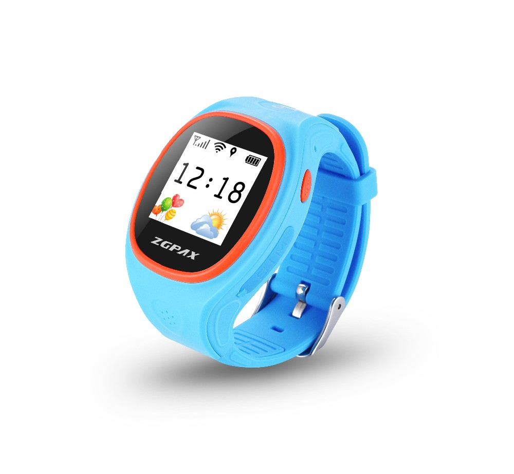 2016 ZGPAX NEWEST KIDS SMART WATCH WITH WIFI TRACKING,LBS AND GSM