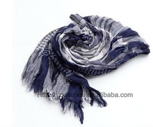 XH-784 100% cotton fashion checked scarfs and stoles
