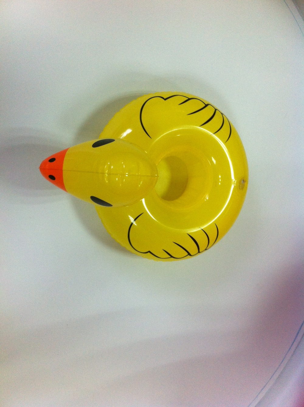 Inflatable Floating Duck Drink Holder