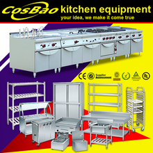 Commercial Stainless Steel Hotel Restaurant Kitchen Equipment