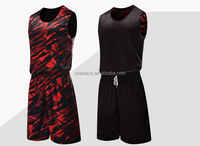 100% Polyester quick dry latest new best design basketball jersey