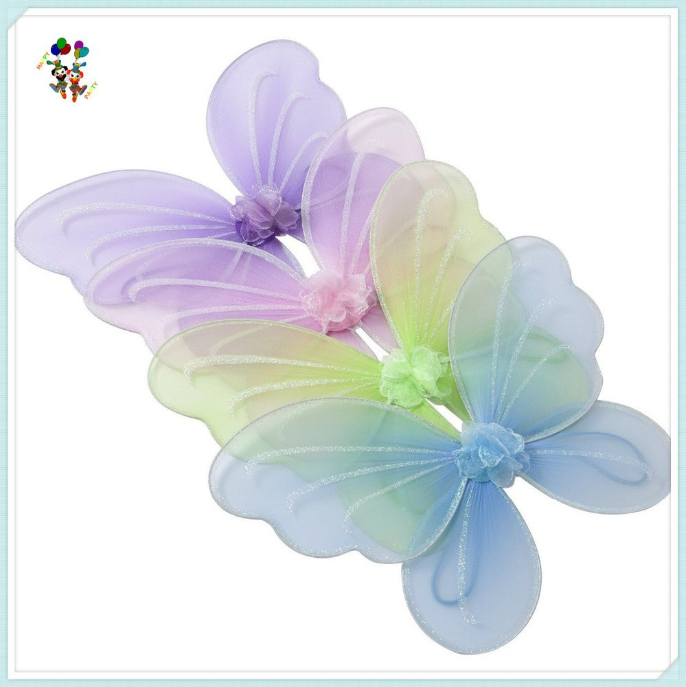 Kids Girl Princess 4 Colors Fairy Butterfly Wings HPC-0816