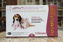 Zoetis Revolution Rx for Dogs For Up to 5 Ibs (Mauve)