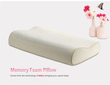 Best selling 49*30*7 size eco friendly memory foam pillow with washable bamboo cover for adults