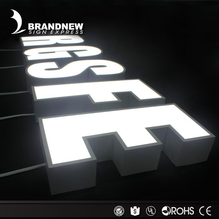 Manufacturer Outlet Channel Letter Led Alphabet Letter For Store ...