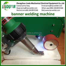 Heat jointing high frequency plastic portable tarpaulin pvc hot air welding machine