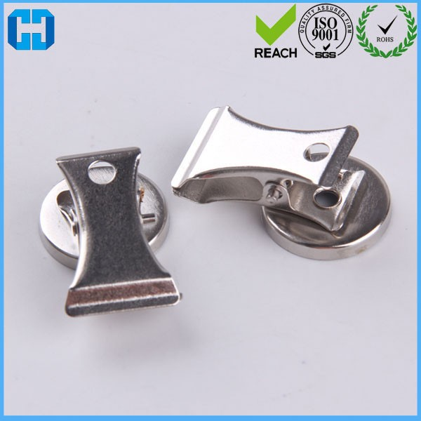 Mass Supply Metal ID Badge Holders Name Tags Clips