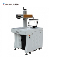 DHL free shipping narrow fiber used laser marking machine 20w 30w for sale