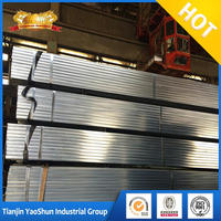 200x200 steel square pipe electrical wire conduit pre galvanized pipe