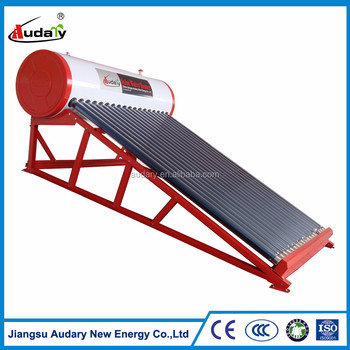 inclined roof non pressurized solar water heater
