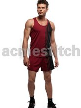 Men short sports wear and leisure wear design