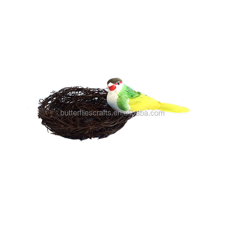 Artificial birds for outdoor weddings and bouquets