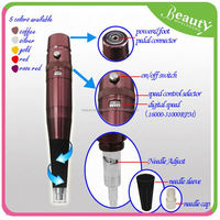 eyebrow embroidery pen ,H0T019 permanent tattoo pen , permanent makeup pen recharge