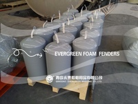 Polyurethane EVA foam filled fender/Marine Floating Fender