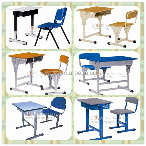 China cheap classroom furniture adjustable school student for Affordable furniture for college students