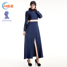 Zakiyyah HSZ -E012 fancy muslim abaya dress costumes for women